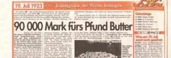 1923: Enstehung der Kolonie »Saatwinkler Damm«