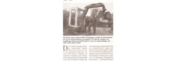 2002: Neue Wasserleitung, Inbetriebnahme Kanalisation